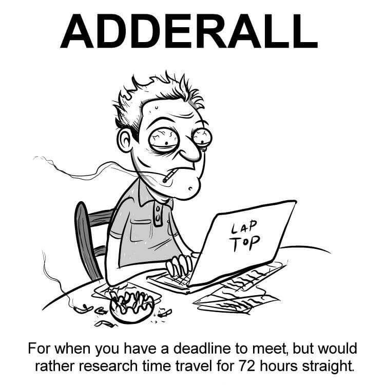 adderall in men